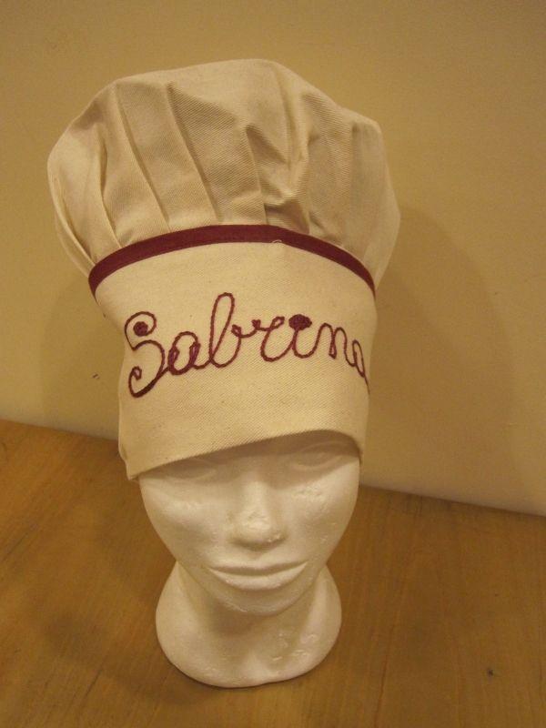 Cappello chef ecrù 2125537a84ad